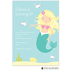 Mermaid Party Invitation -