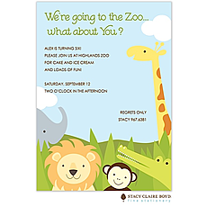 Safari Party Invitation -