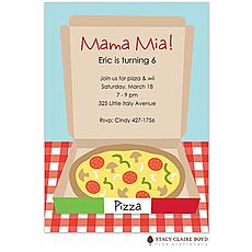: Mama Mia! Party Invitation