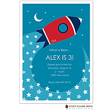 : What A Blast! Party Invitation