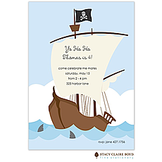 : Yo Ho Ho Party Invitation