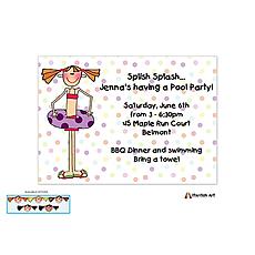 : Pool Party Invitation