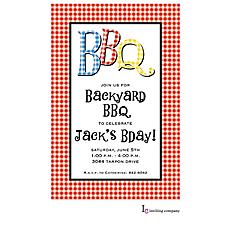 : BBQ Check Invitation