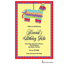 : Pinata Invitation