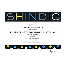 : Shindig Invitation