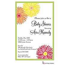 : Wildflower Invitation