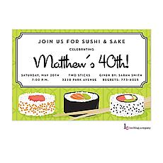 : Sushi Invitation