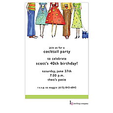 : Cocktail Posse Invitation