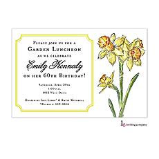 : Daffodils Invitation