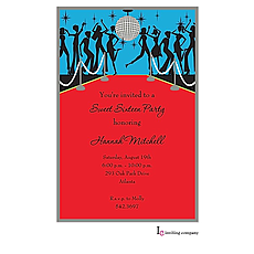 Disco Ball Invitation -