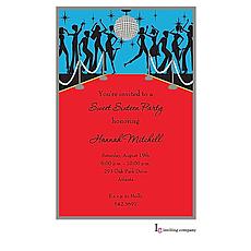 : Disco Ball Invitation