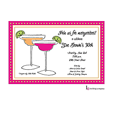 : Two Margaritas Invitation