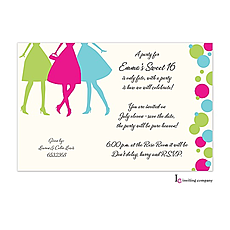 Party Girls Invitation -