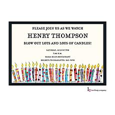 Birthday Blowout Invitation -