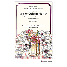 : Wine & Dine Invitation