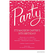 Party Watermelon Invitation -