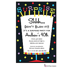 : Big Surprise Invitation
