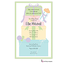 : Baby Stack Invitation