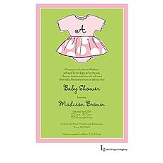 : Baby Dress Invitation