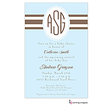 : Sky Ribbon Invitation