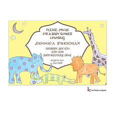 : Magical Safari Invitation