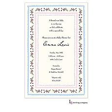 : Baby Blossoms Invitation