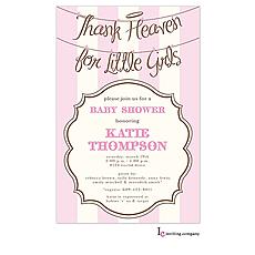 Angel Girls Invitation -