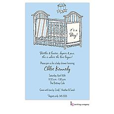 Boy Room Invitation -