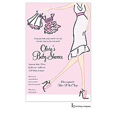 : Girl Glee Invitation