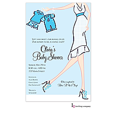 Boy Glee Invitation -