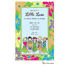 : Little Luau Invitation
