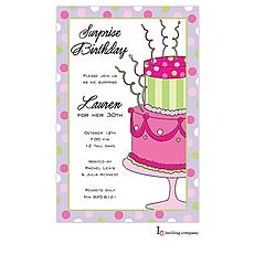 : Crazy Cake Invitation