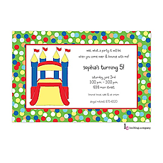 : Bounce Castle Invitation
