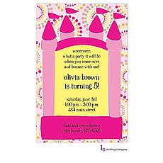 : Bouncy Girl Invitation