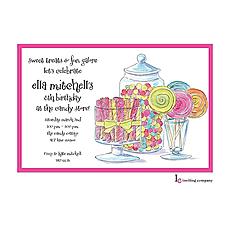 : Candy Buffet Invitation