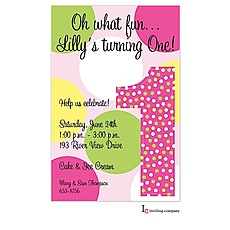 : One Girl Invitation