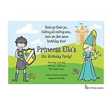 : Little Kingdom Invitation