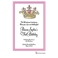 : Princess Crown Invitation