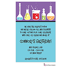 : Science Party Invitation