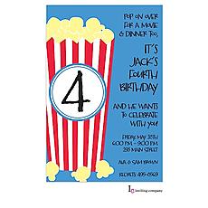 : Popcorn Invitation