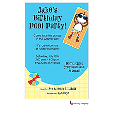: Monkey Pool Invitation