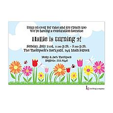 : Ladybug Garden Invitation