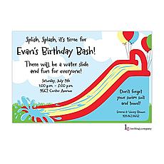 : Bouncy Slide Invitation