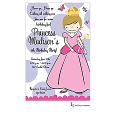 : Princess Dot Invitation