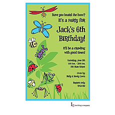 : Bugs Galore Invitation