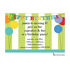 : Birthday Deco Invitation