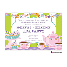 Tea n Sweets Invitation -