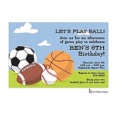 : Sporty Invitation