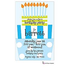 : Fun Day Boy Invitation