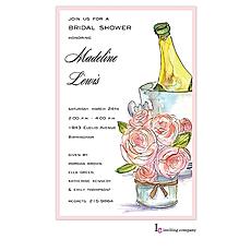 Elegant Champagne Invitation -